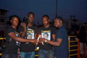 LASU School Of Communication Holds Candlelight procession for Late Yinka Adeparusi